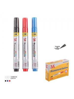 3A Permanent Kalem Kırmızı