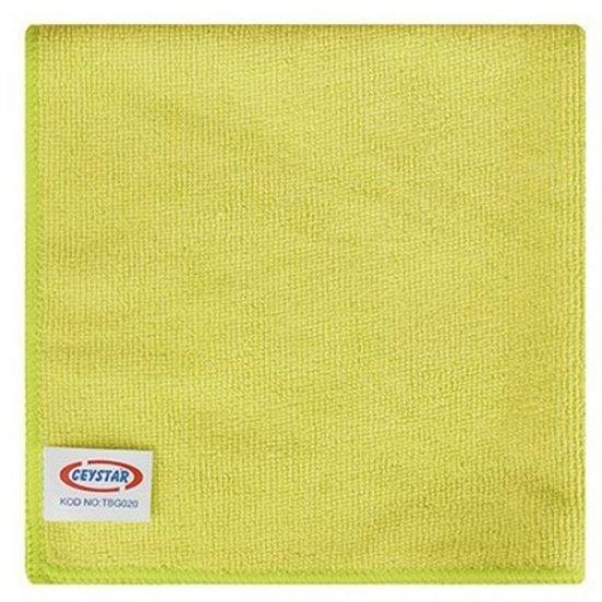 Mikrofiber Temizlik Bezi Sarı 40x40 Ceystar