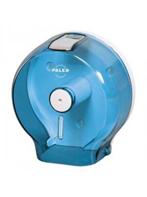 Palex Jumbo Tuvalet Kağıdı Dispenseri Şeffaf-Mavi