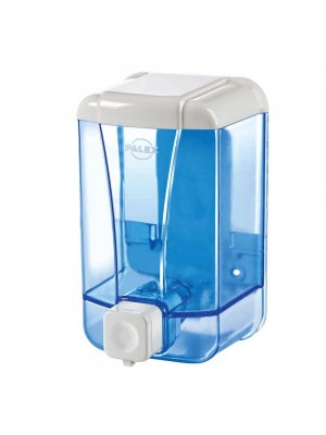 Palex Sıvı Sabun Dispenseri 1000 cc Şeffaf-Mavi
