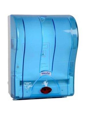 Palex Otomatik Havlu Dispenseri Şeffaf-Mavi