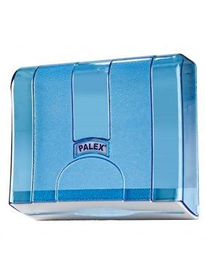 Palex Z Katlama Havlu Dispenseri Şeffaf-Mavi