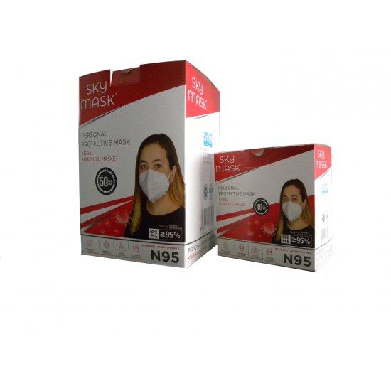 N95 Maske 10 Lu Kutu  ( FFP2 )