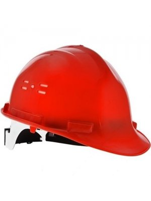 Baret Ce Sertifikalı Enseden Mekanizmalı Kırmızı