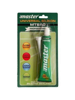 Master MTS50 Universal Silikon Tüp Şeffaf 50 ml