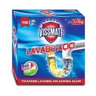 Vissmate Granüllü Lavabo Açıcı (1 Kutu / 2 Paket )