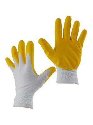 WinCell Sarı Nitril İş Eldiveni No:10