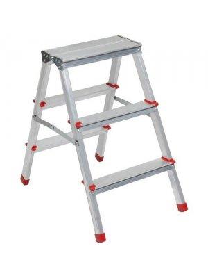 Beykon 3+3 Çift Çıkışlı Alüminyum Merdiven