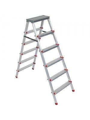 Beykon 6+6 Çift Çıkışlı Alüminyum Merdiven