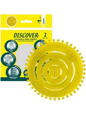Discover Çok Amaçlı Koku Giderici 2'li Paket Limon