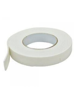 Pass Çift Taraflı Köpük Bant  Beyaz (18 MM * 2 Metre)